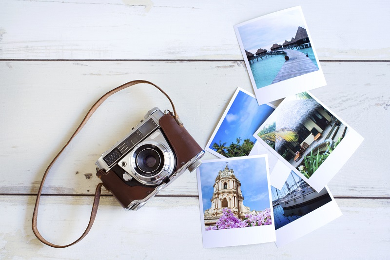Photo effet polaroid